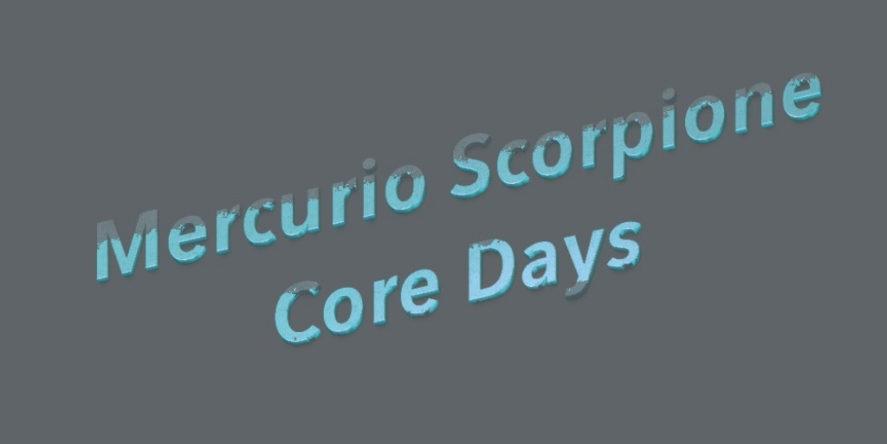 mercurio scorpione 2019