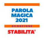 parola magica scorpione 2021
