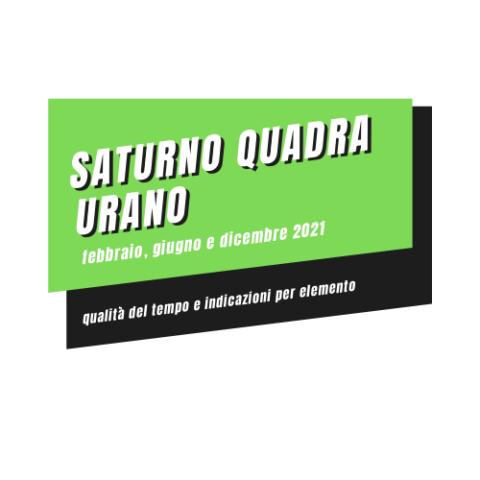 qualità del tempo saturno quadra urano